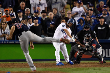 Clayton Kershaw World Series - Boston Red Sox v Los Angeles Dodgers - Game Three