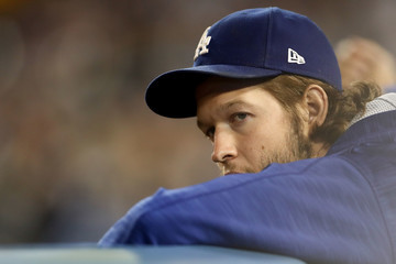 Clayton Kershaw NLCS - Chicago Cubs v Los Angeles Dodgers - Game Three