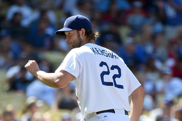 Clayton Kershaw Los Angeles Angels of Anaheim v Los Angeles Dodgers