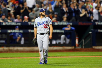 Clayton Kershaw Division Series - Los Angeles Dodgers v New York Mets - Game Four