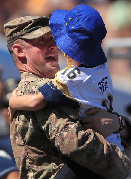 5a3fe6935b0 Clayton Wells Photos - Los Angeles Chargers vs. Los Angeles Rams - 1 ...