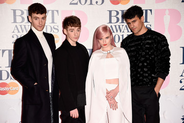 Clean Bandit Arrivals at the BRIT Awards