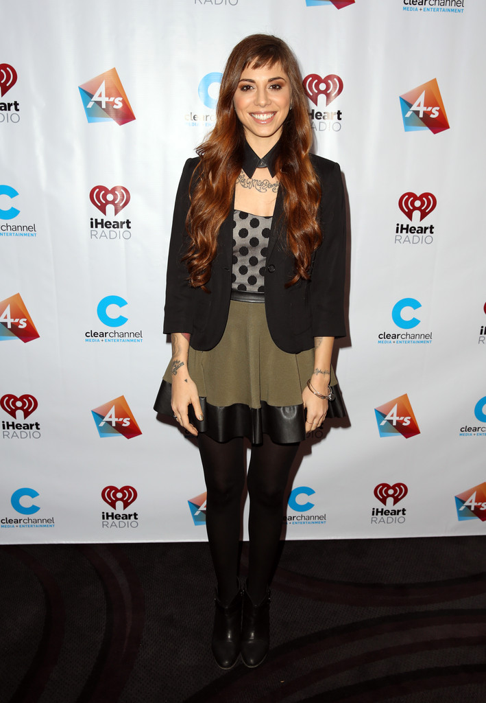 Christina Perri Pictures iHeartRadio's Artists on the Verge -