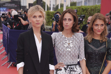 Clemence Poesy Anne Berest Opeing Ceremony - 40th Deauville American Film Festival