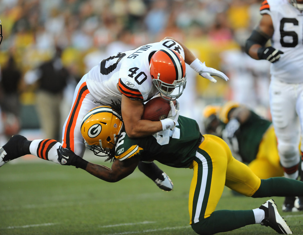 Morgan Burnett s s Cleveland Browns v Green Bay