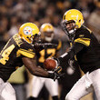 Ben Roethlisberger and Rashard Mendenhall Photos