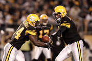 Ben Roethlisberger and Rashard Mendenhall Photos Photo