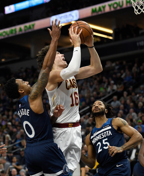 outlet store sale fa208 87dc0 Cedi Osman in Cleveland Cavaliers v Minnesota Timberwolves ...