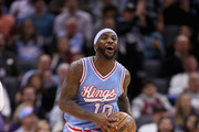 Ty Lawson #10 of the Sacramento Kings reacts after a call that he didn't like during their game against the Cleveland Cavaliers at Golden 1 Center on January 13, 2017 in Sacramento, California.  NOTE TO USER: User expressly acknowledges and agrees that, by downloading and or using this photograph, User is consenting to the terms and conditions of the Getty Images License Agreement.
