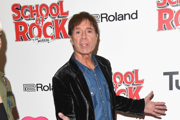 Cliff Richard Opening Night Of 'School Of Rock The Musical' - Red Carpet Arrivals