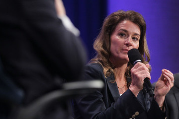 Melinda Gates Clinton Global Initiative Brings Business And World Leaders Together
