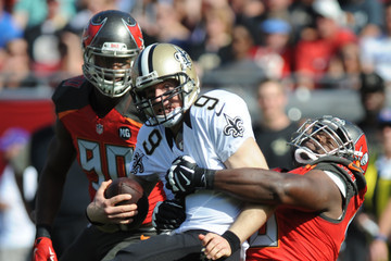 Clinton McDonald New Orleans Saints v Tampa Bay Buccaneers