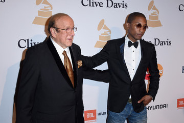 Clive Davis The 57th Annual GRAMMY Awards - Pre-GRAMMY Gala And Salute To Industry Icons Honoring Martin Bandier - Arrivals