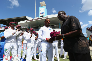 Clive Lloyd West Indies v England - 3rd Test: Day One