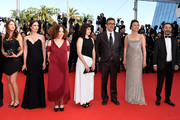 (2L-R) Melisa Sozen, a guest, Ebru Ceylan, Nuri Bilge Ceylan, Demet Akbag and a guest attend the Closing Ceremony and Fistful of Dollars Screening during the 67th Annual Cannes Film Festival on May 24, 2014 in Cannes, France.