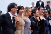 "Official Jury Members Joel Coen, Sophie Marceau, Sienna Miller, Xavier Dolan, Rossy de Palma, Rokia Traore and Ethan Coen attend the closing ceremony and Premiere of ""La Glace Et Le Ciel"" (""Ice And The Sky"") during the 68th annual Cannes Film Festival on May 24, 2015 in Cannes, France."