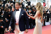 """Sylvester Stallone and Sistine Rose Stallone attends the closing ceremony screening of """"The Specials"""" during the 72nd annual Cannes Film Festival on May 25, 2019 in Cannes, France."""