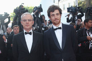 Director Daniele Luchetti and actor Elio Germano attend the Palme d'Or Award Closing Ceremony held at the Palais des Festivals during the 63rd Annual Cannes Film Festival on May 23, 2010 in Cannes, France.