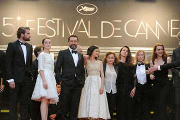 Gilles Lellouche Catherine Arditi Closing Ceremony & Therese Desqueyroux Premiere - 65th  Annual Cannes Film Festival