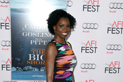 "Actress Adepero Oduye attends the closing night gala premiere of Paramount Pictures' ""The Big Short"" during AFI FEST 2015 at TCL Chinese Theatre on November 12, 2015 in Hollywood, California."