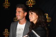 Harry Kewell and Sheree Murphy arrive at the official opening of 'Club 23' at the Crown Entertainment Complex on November 7, 2011 in Melbourne, Australia.