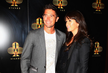 Harry Kewell Sheree Murphy 'Club 23' Official Opening Night