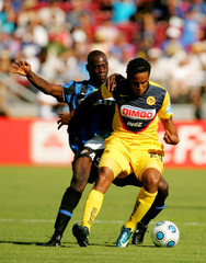 Jean Beausejour Club America v Inter Milan