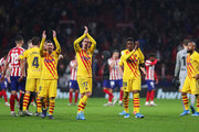 Antoine Griezmann Junior Firpo Photos Photo