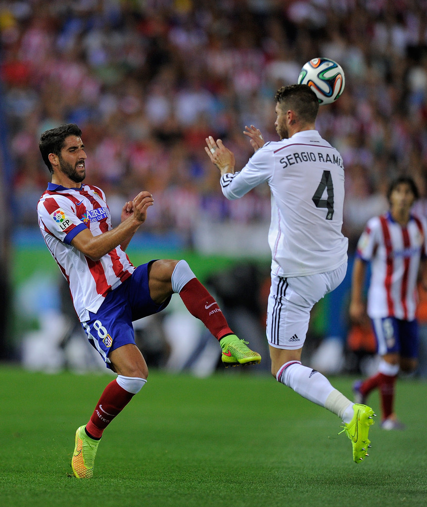 Sergio ramos and raul garcia photos photos zimbio - Sergio madrid ...