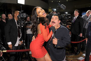 Guillermo Rodriguez and Ariel Meredith Photos Photo
