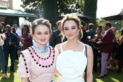 (L-R) Joey King and Hunter King attend GOLD MEETS GOLDEN 2020, presented by Coca-Cola, BMW Beverly Hills And FASHWIRE, and hosted by Nicole Kidman and Nadia Comaneci, At The Virginia Robinson Gardens And Estate on January 04, 2020 in Beverly Hills, California.