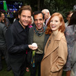Daniel Bruhl and Jessica Chastain Photos
