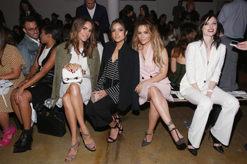 Coco Rocha Louise Roe Marissa Webb - Front Row - Spring 2016 MADE Fashion Week
