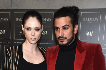 Coco Rocha BALMAIN X H&M Collection Launch - Arrivals