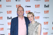 IMDb Founder and CEO Col Needham and Kacey Rohl attend The 2019 Rising Stars - Power Break Lunch At The 2019 Toronto International Film Festival at Patria on September 09, 2019 in Toronto, Canada.