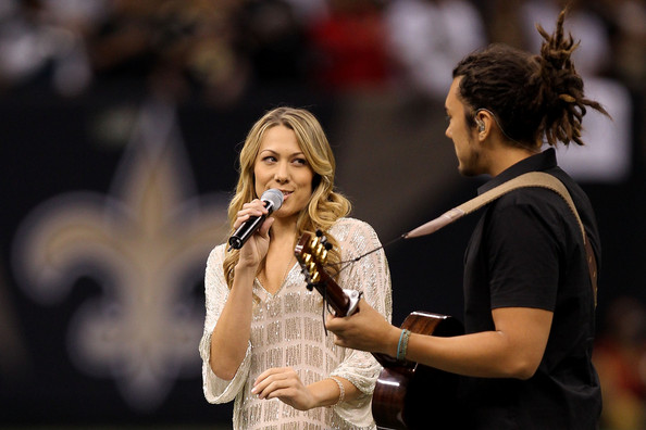 Minnesota Vikings v New Orleans Saints. In This Photo: Colbie Caillat