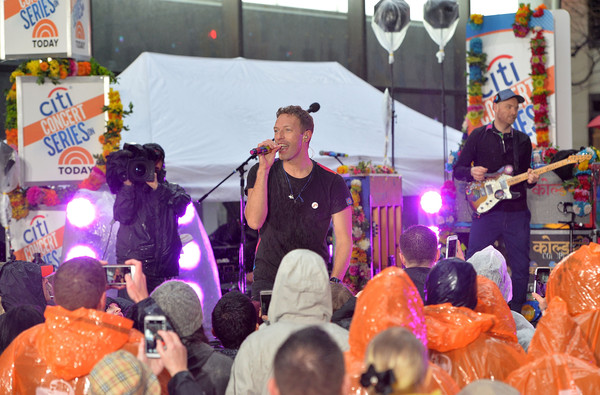 Coldplay Performs on NBC's 'Today'