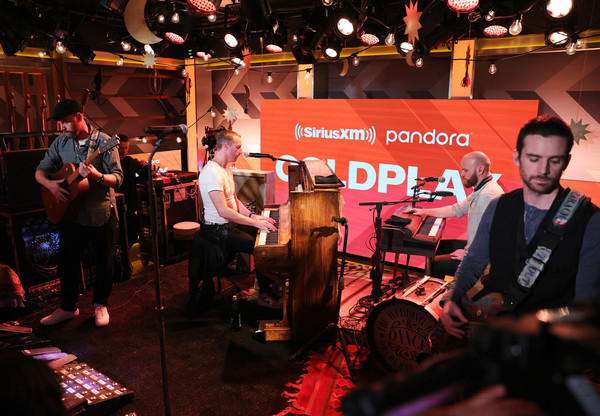 Coldplay Performs Exclusive Stripped-Down Set For SiriusXM And Pandora At The SiriusXM Hollywood Studios In Los Angeles
