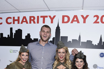 Cole Aldrich Annual Charity Day Hosted By Cantor Fitzgerald And BGC - BGC Office - Inside