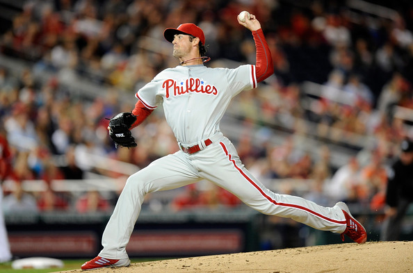 Cole Hamels - Philadelphia Phillies v Washington Nationals