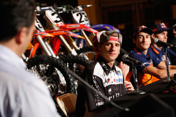 Cole Seely Monster Energy Supercross: Press Conference At Grand Central Terminal