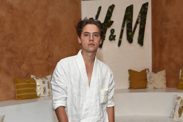 Cole Sprouse H&M Loves Coachella Tent at The Empire Polo Field