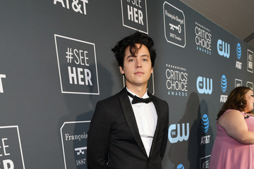 Cole Sprouse The 24th Annual Critics' Choice Awards - Red Carpet