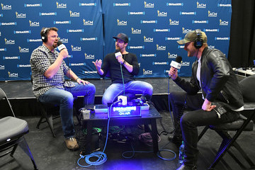 Cole Swindell SiriusXM's The Highway Channel Broadcasts Backstage Leading Up To The American Country Music Awards at the T-Mobile Arena
