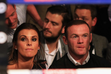 Coleen Rooney Boxing at Manchester Arena