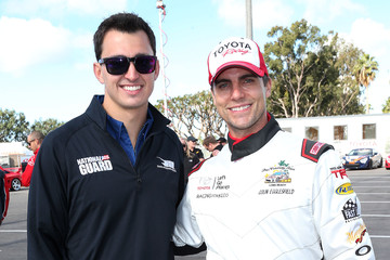 Colin Egglesfield Toyota Pro/Celebrity Race: Practice Day