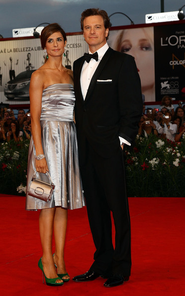 Colin Firth Actor Colin Firth and Livia Giuggioli attend the 'Tinker, Tailor, Soldier, Spy' premiere at the Palazzo del Cinema during the 68th Venice Film Festival on September 5, 2011 in Venice, Italy