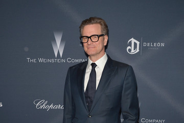Colin Firth FIJI Water at the Weinstein Company's Pre-Oscar Dinner