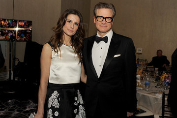 Colin Firth Golden Globes Cocktail Party