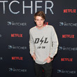 Colin Ford Photocall For Netflix's 'The Witcher' Season 1